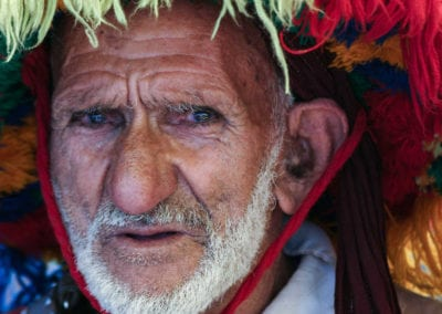 Moroccan man in a traditional headress